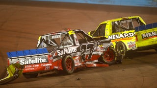 Austin Cindric has not talked with Ben Rhodes about controversial wreck at Phoenix