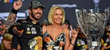 Martin Truex Jr. celebrates his championship win in his post-race interview | 2017 HOMESTEAD-MIAMI | NASCAR VICTORY LANE