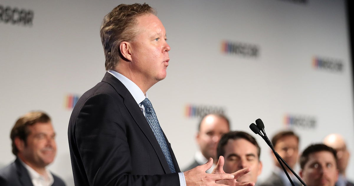 Brian France says he's happy with the changes NASCAR has made I NASCAR RACE DAY (VIDEO)