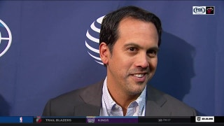 Heat's Spoelstra looks forward to more success with team's competitiveness