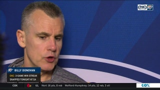 Billy Donovan: 'There is always going to be runs in the game'