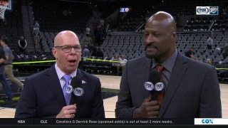 Thunder lose 104-101 to Spurs | Thunder Live