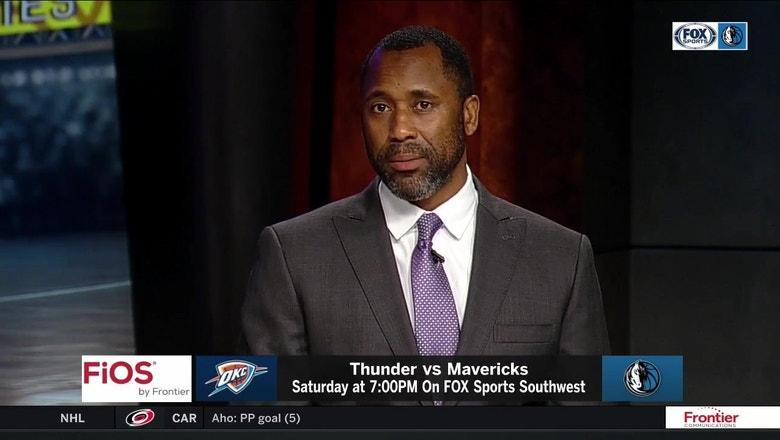 Oklahoma City Thunder vs. Dallas Mavericks preview   Mavs Live