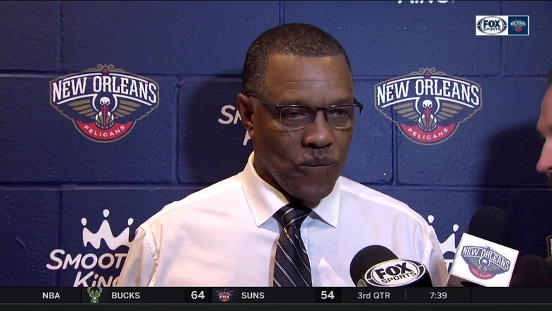 Alvin Gentry on beating a 'very impressive team'