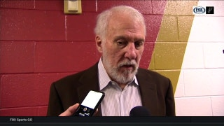 Gregg Popovich on winning 'one quarter' in loss to Pelicans
