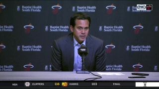 Spoelstra wants to instill an attitude of winning among Heat players