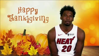 Justise Winslow shares how he celebrates Thanksgiving