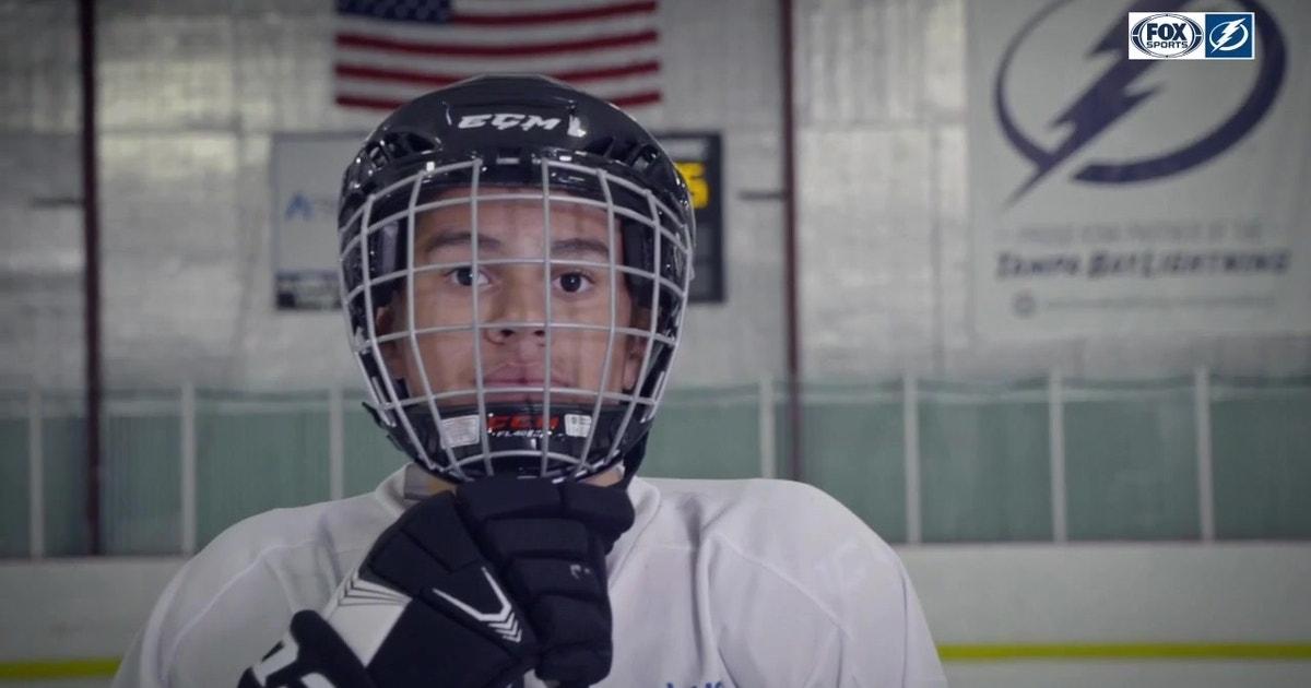 meet the tampa bay lightning s thunder kid for hockey fights