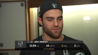 Andreoff postgame: 'That was exactly what we needed'