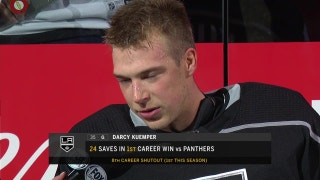 Kuemper blanks the Panthers for his first shutout of the season