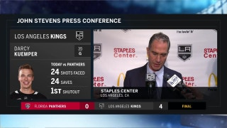 Stevens after win: 'We got contributions from everybody'
