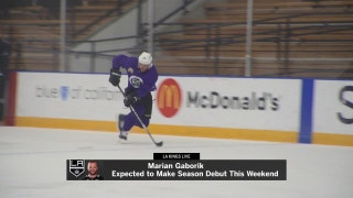 LA Kings Live: Marian Gaborik is expected to make his season debut this weekend