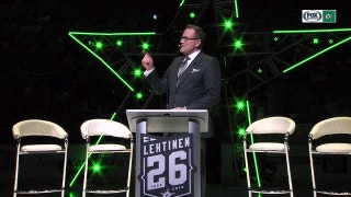 Jere Lehtinen's Jersey Retirement Ceremony