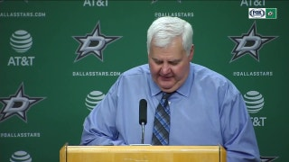 Ken Hitchcock talks Stars win over Calgary
