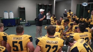HSFB Playoffs: McKinney Pre Game Speech | Football Friday