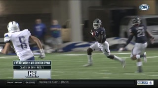 FW Brewer vs. Denton Ryan | High School Scoreboard Live
