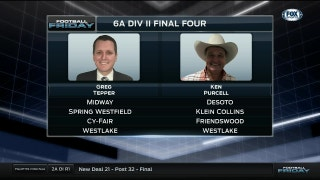 6A Div. 2 Final Four Predictions   Football Friday