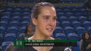 Big West volleyball: Emily Maglio (11 kills) leads Hawaii past UC Irvine, 3-0