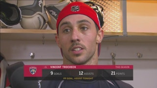 Vincent Trocheck: The goals they scored tonight were on us