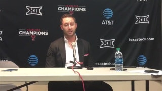 Kliff Kingsbury on job security after win over Texas: 'I want to be here'