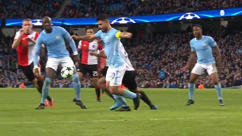 Manchester City vs. Feyenoord | 2017-18 UEFA Champions League Highlights
