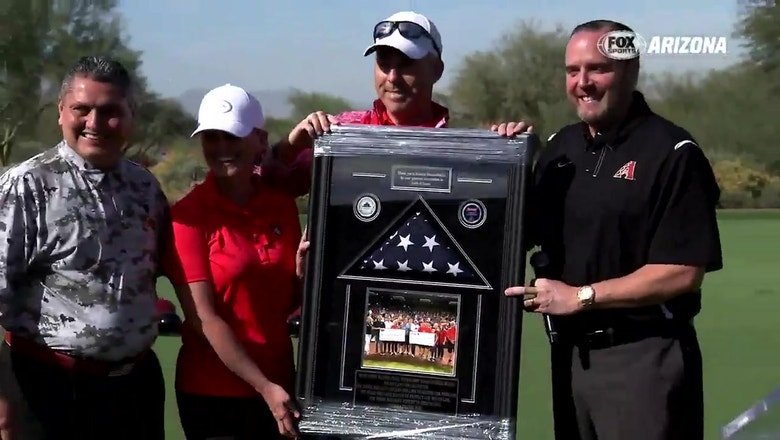 D-backs golf tourney raises $150K for military families
