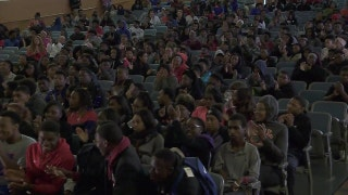 East St. Louis High School students attend a special screening of '89 Blocks,' the 'Magnify' documentary from LeBron James and Maverick Carter