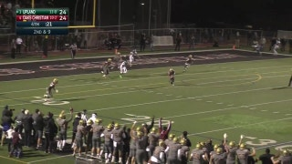Playoffs, semifinals: PICK-6 ALERT! GAME-WINNER! Nate Lenthall goes 96 yards for Oaks Christian