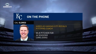 New Royals pitching coach Cal Eldred is eager to get started