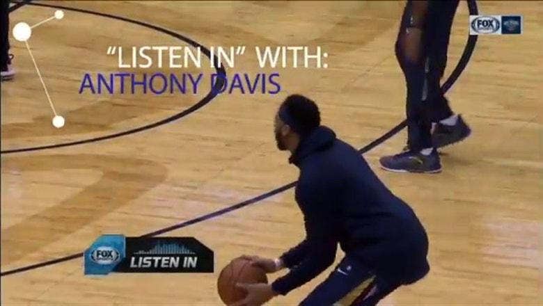 Pelicans star Anthony Davis goes Mic'ed Up