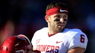 Baker Mayfield won't start after inappropriate sideline actions against Kansas