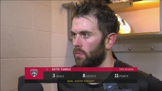 Keith Yandle liked Panthers effort and play despite loss