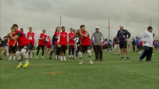 High school seniors take part in the California Showcase