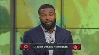 Is it a done deal? Tyron Woodley talks about a potential fight with Nate Diaz on 'UFC Fight Night'