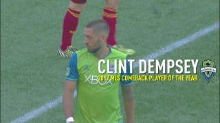 Clint Dempsey wins 2017 MLS Comeback Player of the Year