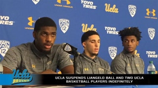 Did UCLA make the right call in suspending its players indefinitely?
