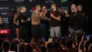 Fabrício Werdum and Marcin Tybura face off at UFC Fight Night weigh-in