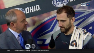 Nick Foligno just kept grinding