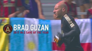 Brad Guzan wins 2017 MLS Save of the Year