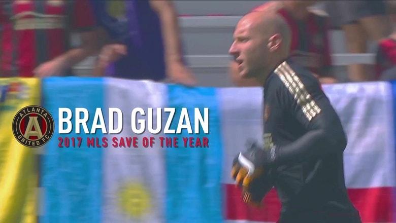 Brad Guzan wins 2017 MLS Save of the Year