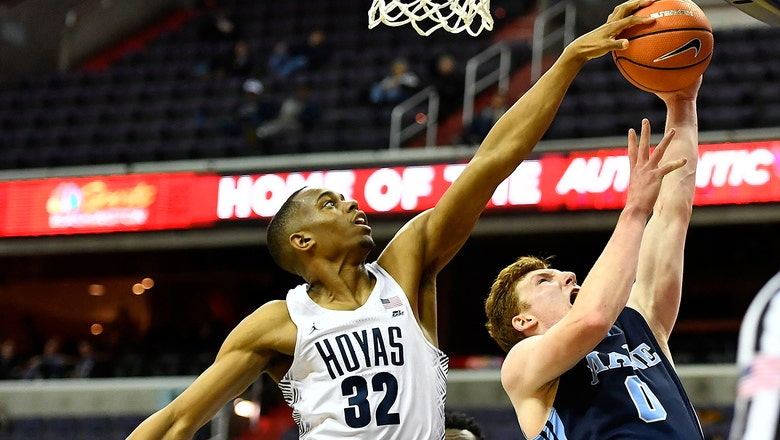 Georgetown stomps Maine 76-55