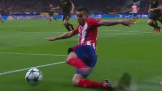 Antoine Griezmann's great finish from Wednesday's match