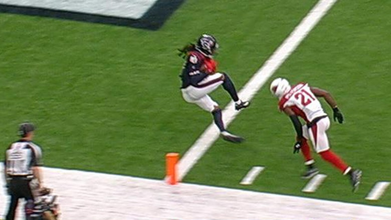 DeAndre Hopkins hauls in 28-yard touchdown pass from Tom Savage