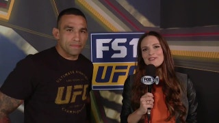 Fabrício Werdum post weigh-in interview | UFC FIGHT NIGHT