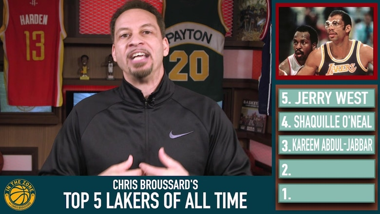 Chris Broussard ranks the Top 5 Lakers of all time