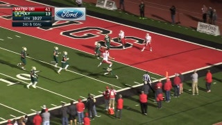 Playoffs, quarterfinals: Mater Dei QB JT Daniels goes WAY up for the score