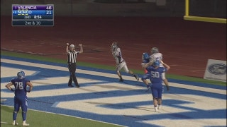 Playoffs, quarterfinals: Pick 6 Alert! Joshua Deneal gets it in the end zone!