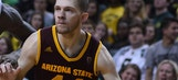 Kodi Justice's 28 points lifts Arizona State to a narrow 92-90 victory over the Kansas State Wildcats