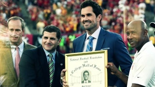 Family, Friends and Former Teammates congratulate Matt Leinart on his induction into the College Football Hall of Fame