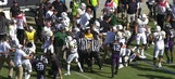 Texas scuffle: Benches clear as a brawl breaks out between TCU and Baylor